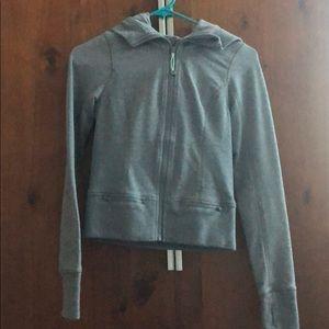Lululemon zip up hoodie gray